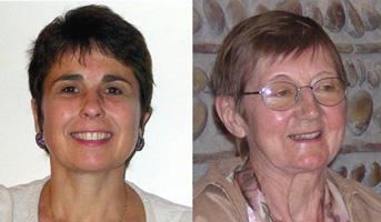 Claire Tardieu et Suzanne Mériaux