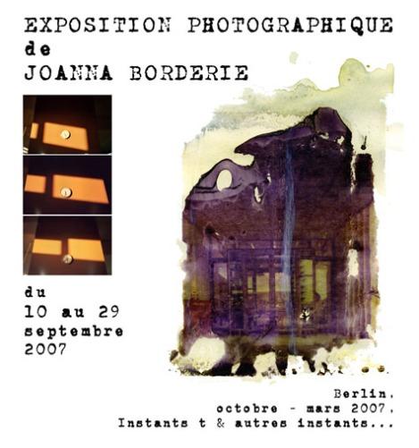 expo Borderie sept 2007
