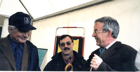 Poulidor et Yves Jean (à droite)