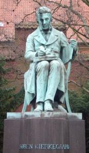 Søren-Kirkegaard-Statue